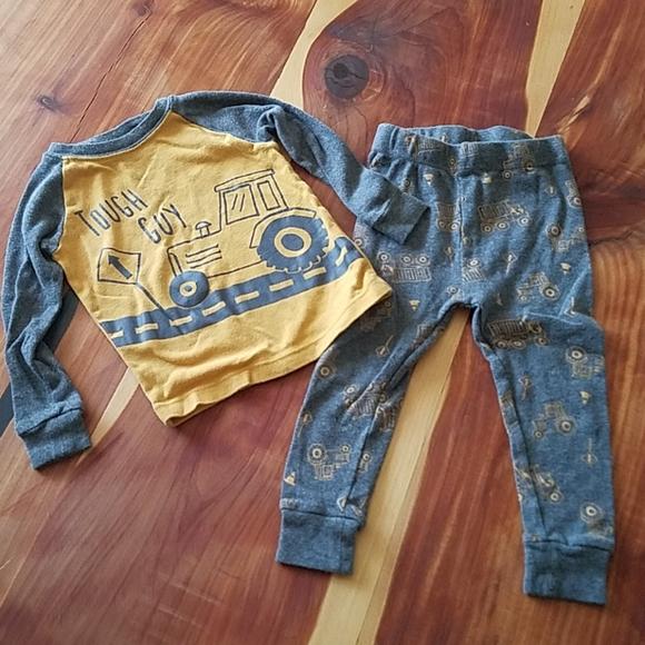 Wonder Nation 2T Tough Guy Construction Pajama Set